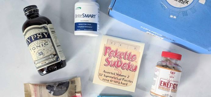 NeuroBox Subscription Box Review + Coupon – June 2018
