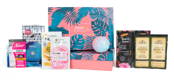 Summer 2018 Walmart Beauty Box Trendsetter & Classic Box Full Spoilers!