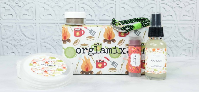 Orglamix June 2018 Subscription Box Review & Coupon