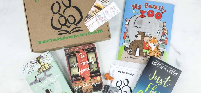 Family Reading Crate July 2018 Box Review