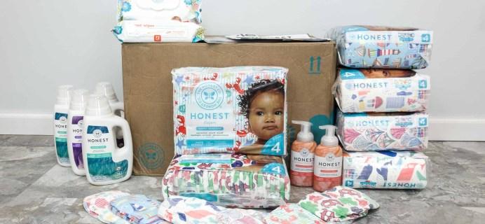Honest Company Diaper Bundle Review + Coupons –  June 2018