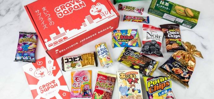 Crave Japan June 2018 Subscription Box Review + Coupon