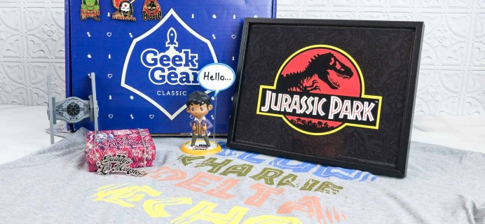 Geek Gear Box June 2018 Subscription Box Review + Coupon