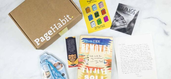 PageHabit June 2018 Subscription Box Review + Coupon – Historical Fiction