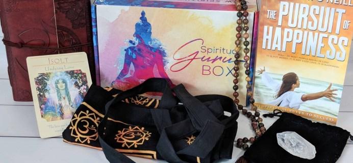 Spiritual Guru Subscription Box Review – June 2018