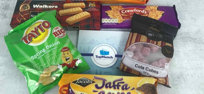 TopMunch May 2018 Subscription Box Review + Coupon