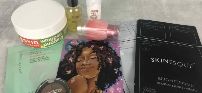 We Are Onyx ONYXBOX May 2018 Subscription Box Review + Coupon