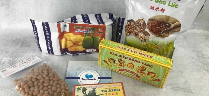 TopMunch June 2018 Subscription Box Review + Coupon – Vietnam