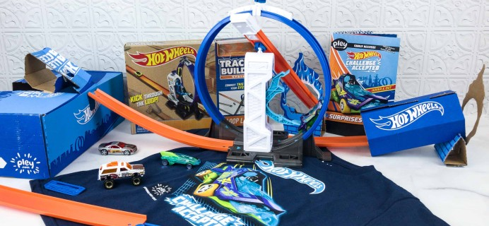 Hot Wheels Challenge Accepted PleyBox June 2018 Subscription Box Review