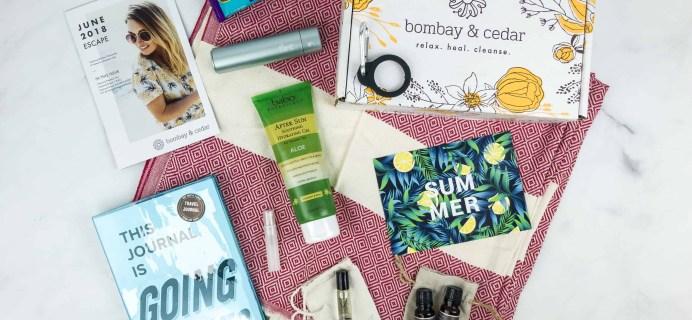 Bombay & Cedar June 2018 Subscription Box Review + Coupon