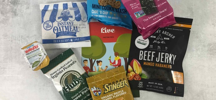 Love With Food June 2018 Tasting Box Review + Coupon!