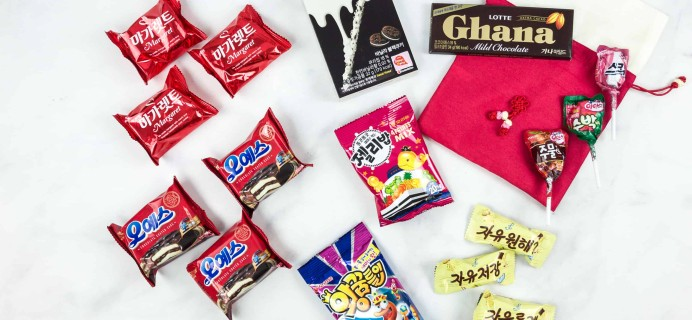 Korean Snack Box July 2018 Subscription Box Review + Coupon