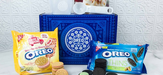 OREO Cookie Club July 2018 Subscription Box Review