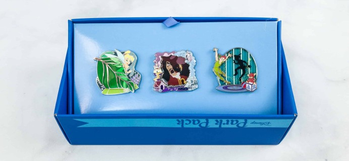Disney Park Pack Pin Edition 3.0 June 2018 Subscription Box Review