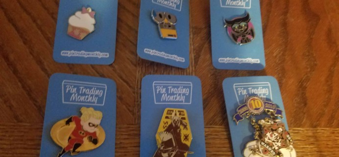 Pin Trading Monthly June 2018 Reveal + Coupons!