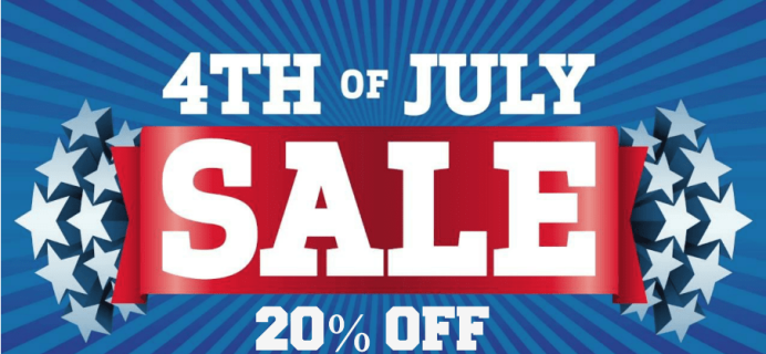 Toy Box Monthly July 4th Sale: Save 20% OFF First Month!
