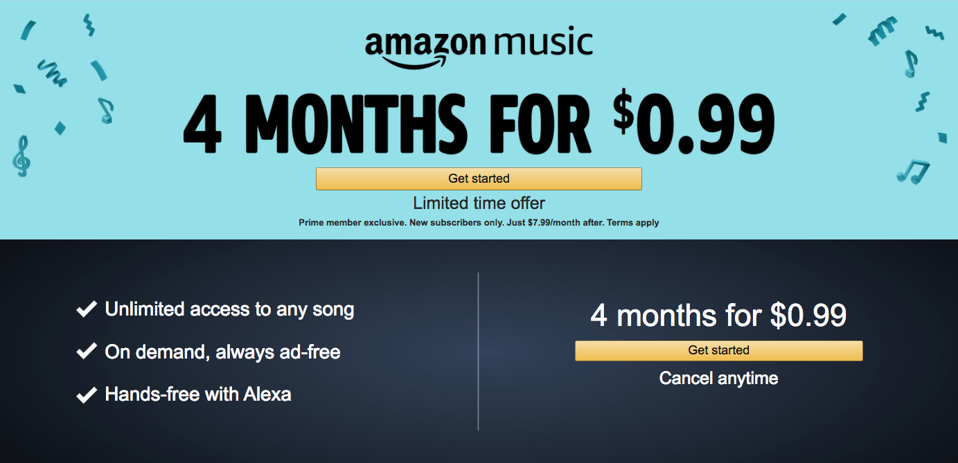 is amazon music included with prime