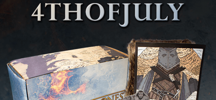 Game of Thrones Box 4th of July 30% Off Coupon!