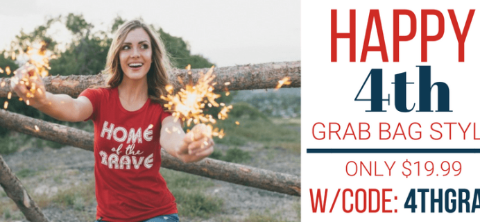Cents of Style 4th of July Graphic Tee Grab Bag Available Now + Coupon!