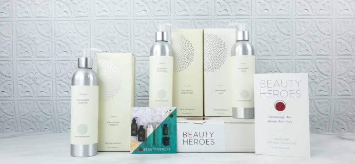 Beauty Heroes July 2018 Subscription Box Review