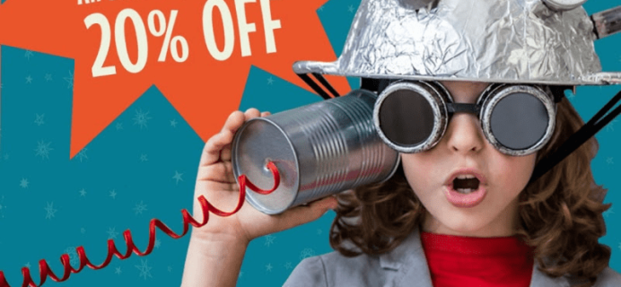 Groovy Lab In A Box Coupon: Get 20% Off!