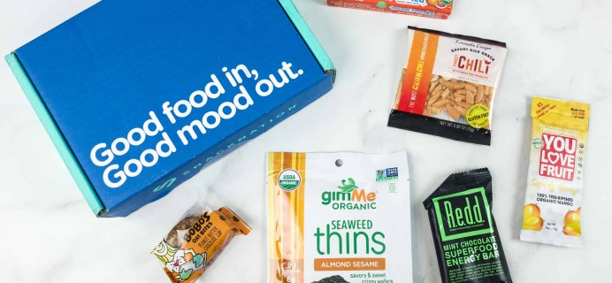 Snack Nation June 2018 Subscription Box Review + Coupon!