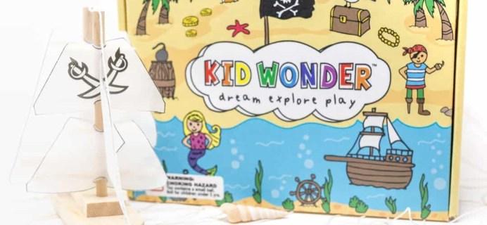Kid Wonder Little Dreamers Box August 2018 Spoilers + Coupon!
