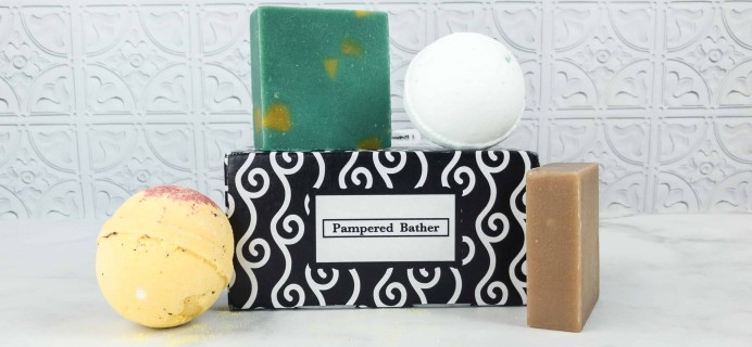 Pampered Bather June 2018 Subscription Box Review + Coupon