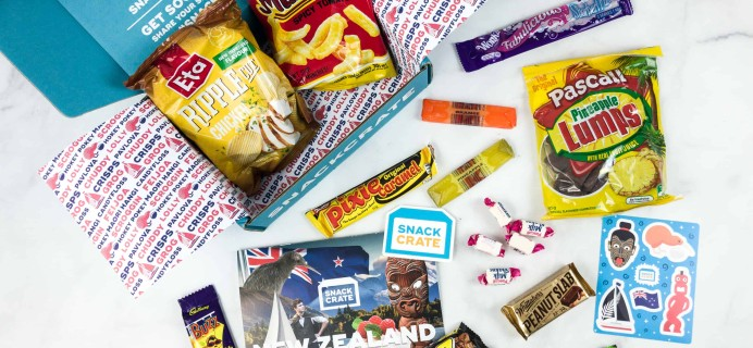 Snack Crate June 2018 Subscription Box Review & $10 Coupon