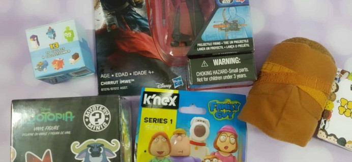 Toy Box Monthly June 2018 Subscription Box Review