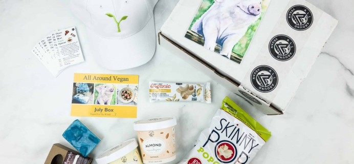 All Around Vegan Box July 2018 Subscription Box Review + Coupon