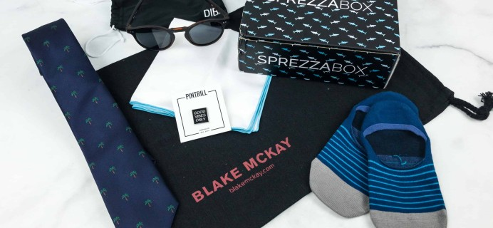 SprezzaBox July 2018 Subscription Box Review + Coupon