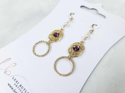 Lexi Butler Earrings of The Month Box June 2018 Subscription Box Review