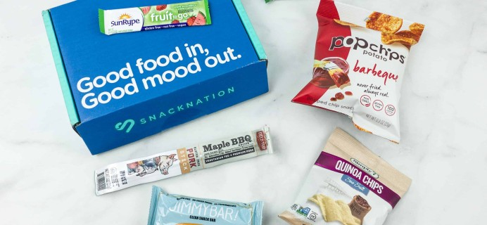 Snack Nation July 2018 Subscription Box Review + Coupon!