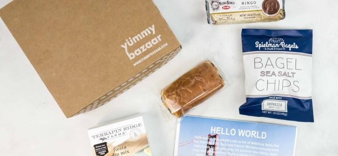 June 2018 Yummy Bazaar Subscription Box Review – Mini Box