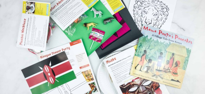 Little Global Citizens June 2018 Subscription Box Review + Coupon – KENYA
