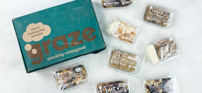 Graze Variety Box Review & Free Box Coupon – July 2018