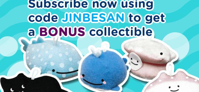 New Doki Doki Crate Coupon: Get Jinbesan Jamboree Plushie!