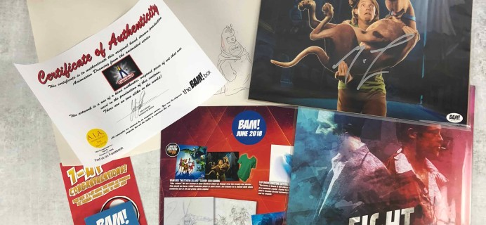 The BAM! Box June 2018 Subscription Box Review & Coupon