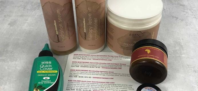 COCOTIQUE June 2018 Subscription Box Review + Coupon