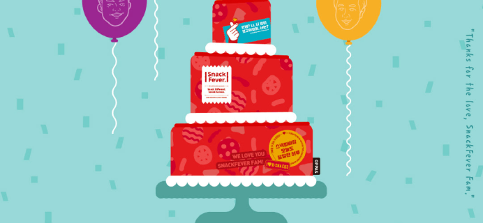 Snack Fever 3rd Year Anniversary Sale: Get 30% Off Everything! EXTENDED!