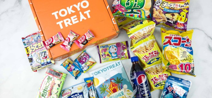 Tokyo Treat June 2018 Subscription Box Review + Coupon