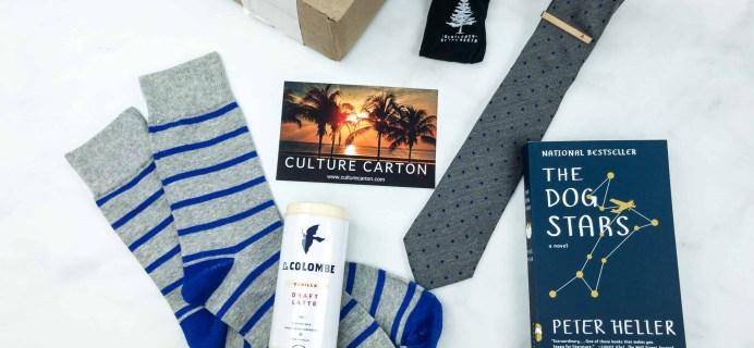 Culture Carton July 2018 Subscription Box Review + Coupon