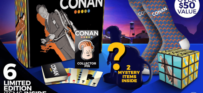 CultureFly Limited Edition Conan's Collector Box Available For Pre-Order Now + Spoilers!