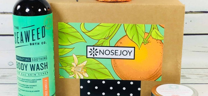 NOSEJOY July 2018 Subscription Box Review + Coupon!