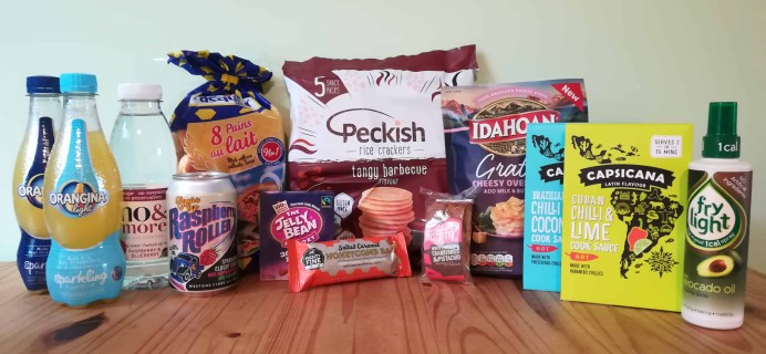 DegustaBox UK June 2018 Subscription Box Review + Coupon!