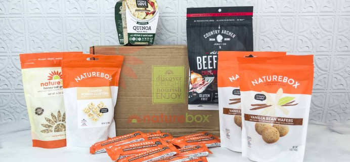 NatureBox Club Review & Coupon – July 2018