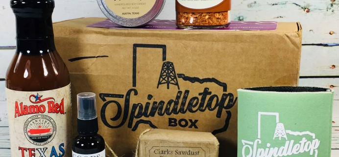Spindletop Box July 2018 Subscription Box Review + Coupon