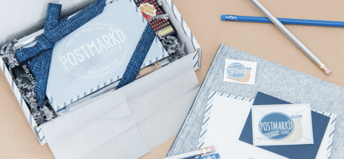 Postmark'd Studio PostBox August 2018 Spoilers + Coupon!