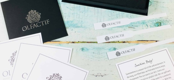 Olfactif for Women July 2018 Subscription Box Review